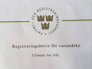 Varumärke Climate for Life